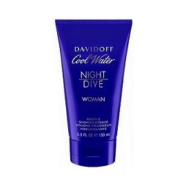 DAVIDOFF COOL WATER NIGHT DIVE WOMEN SHOWER GEL 150 ml.