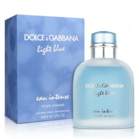 DOLCE & GAB. LIGHT BLUE EAU INTENSE POUR HOMME E.P. V/100ml.