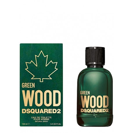 DSQUARED2 GREEN WOOD POUR HOMME E.T.V/100ml.